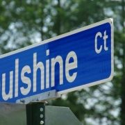 Street sign - Soulshine Court