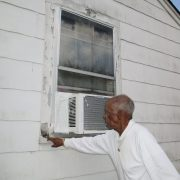 Gene indicating damage near a window