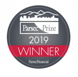 Parsec Prize Winner 2019 Logo