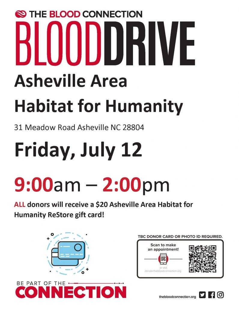 Habitat For Humanity Asheville July 12 Edited