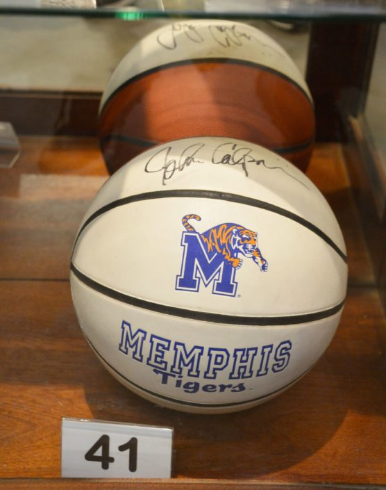 Signed Memphis Tigers Basketball