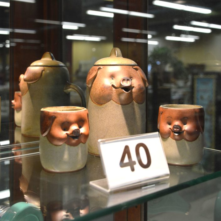 Three Little Pigs Pottery