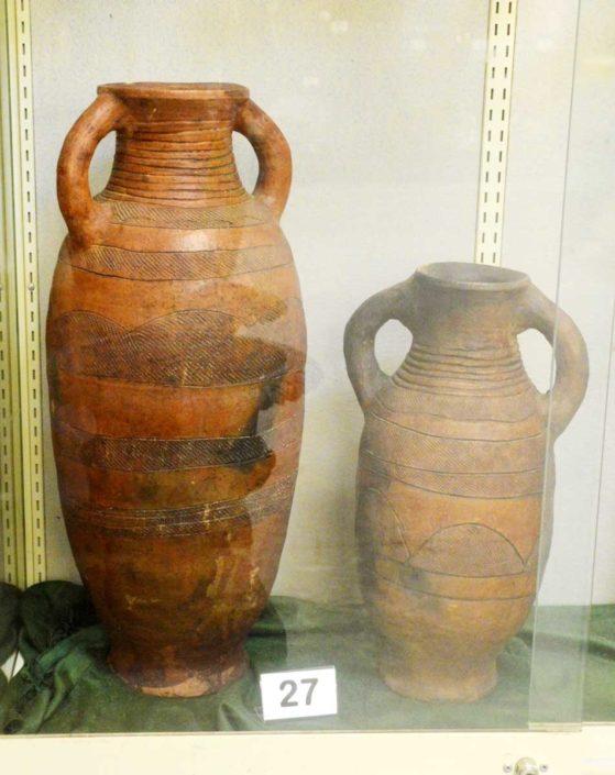 Earthenware Urns