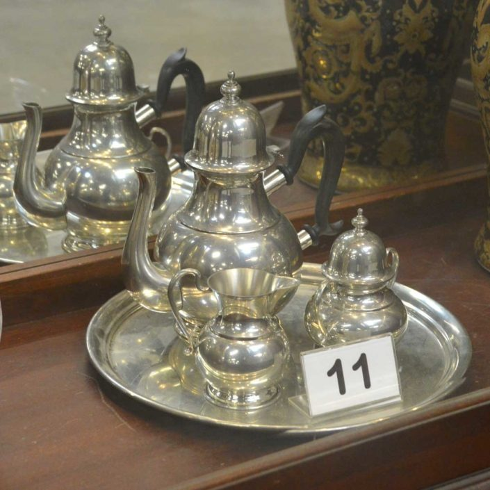 Kirk Old Annapous Pewter Coffee Set