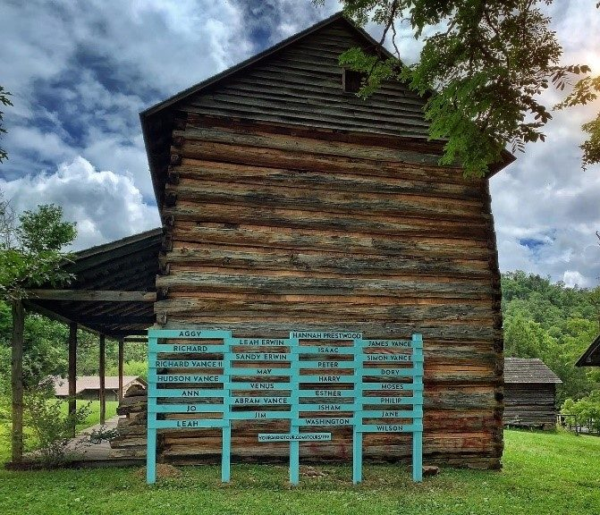 Photo courtesy of Vance Birthplace State Historic Site