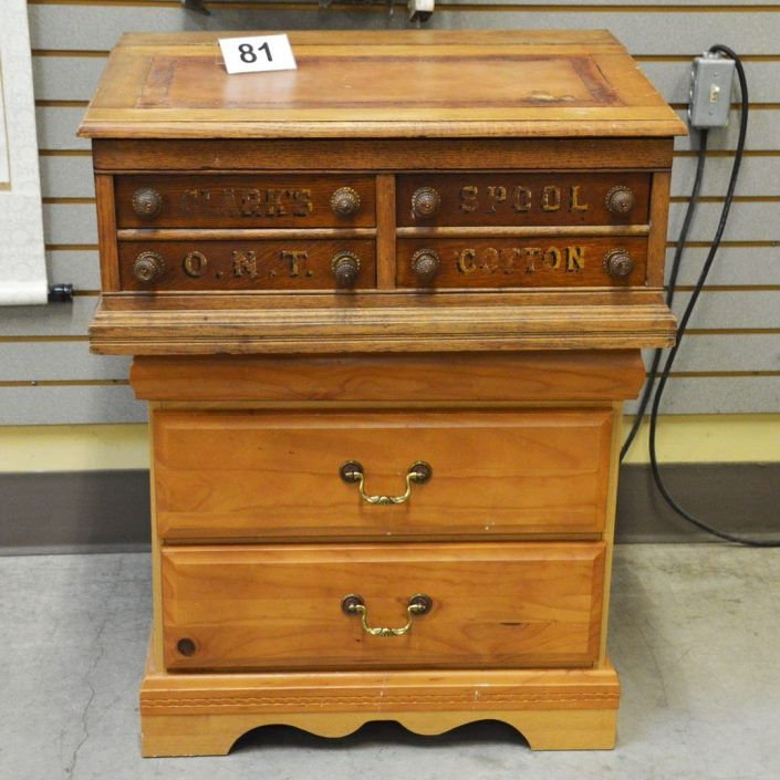 Vintage Retail Counter