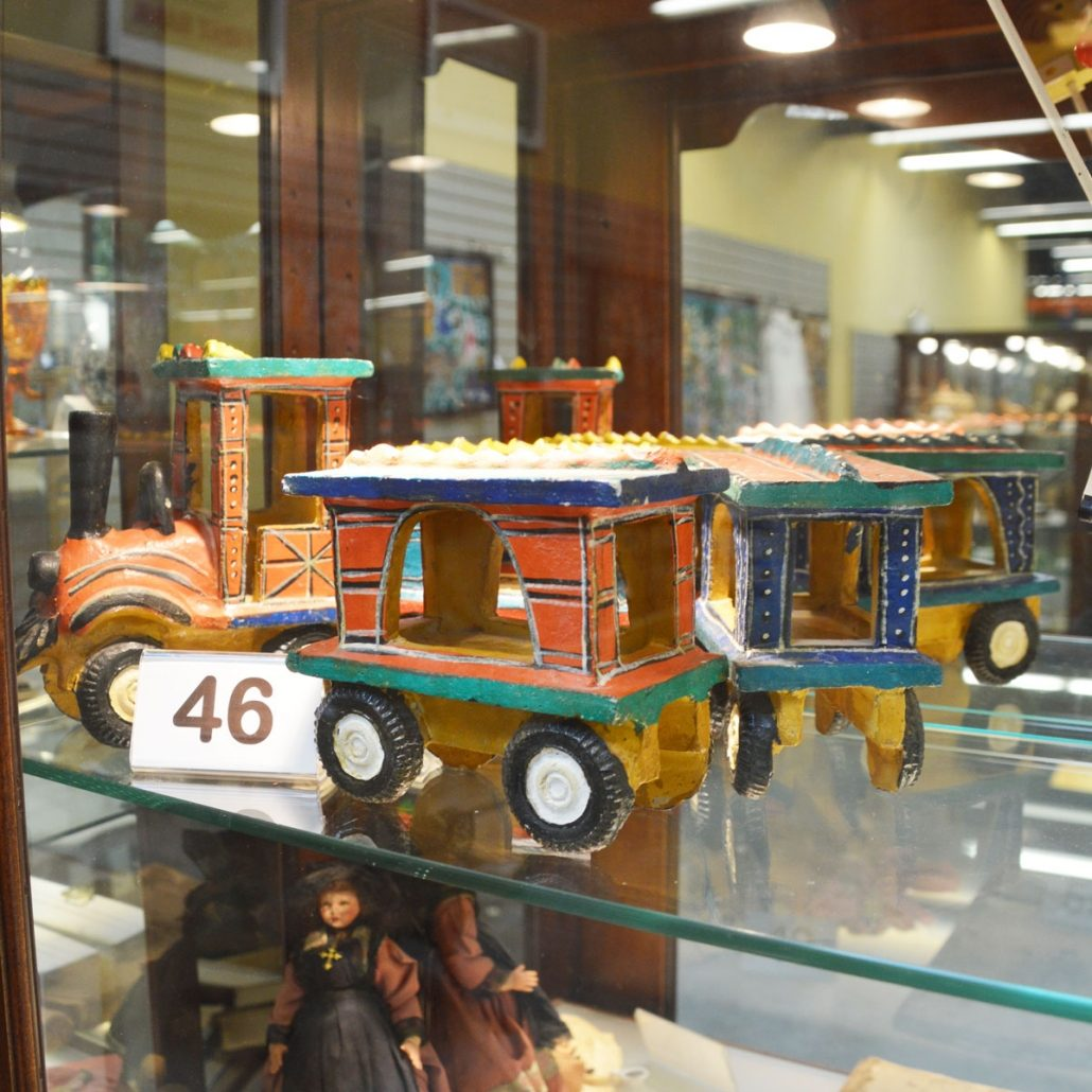 Clay Train Set