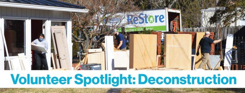 Decon Volunteer Spotlight Feature Image