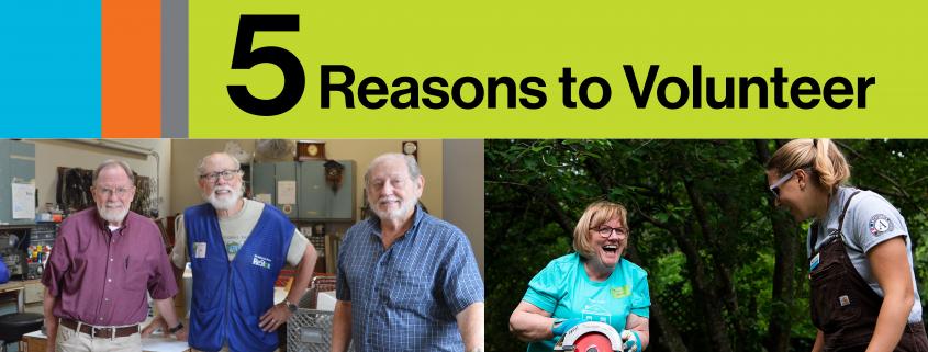 5 Reasons To Volunteer2