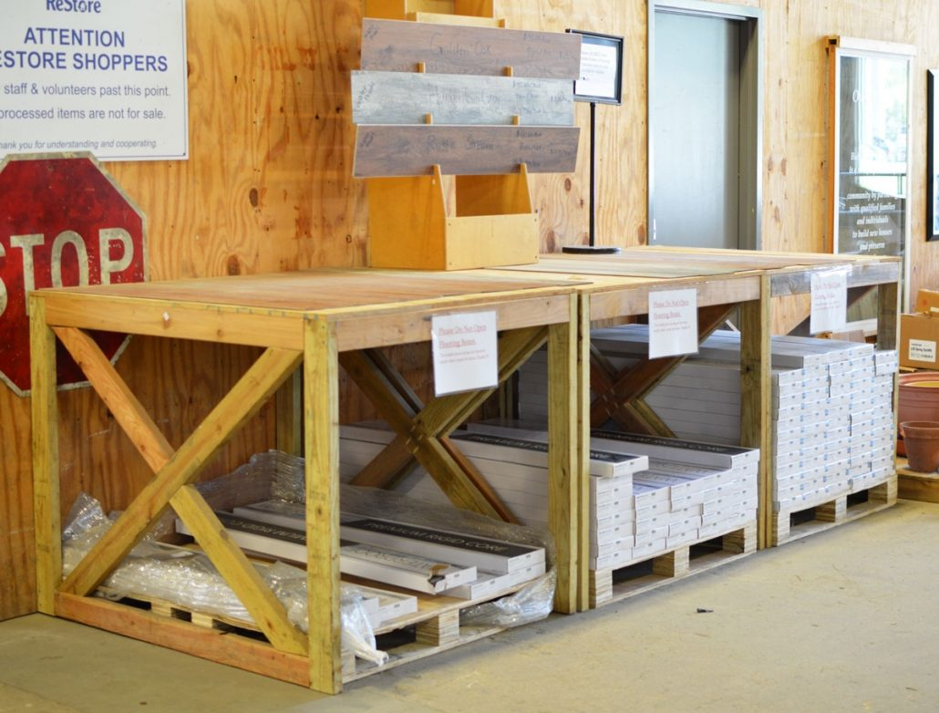 Flooring Shelf