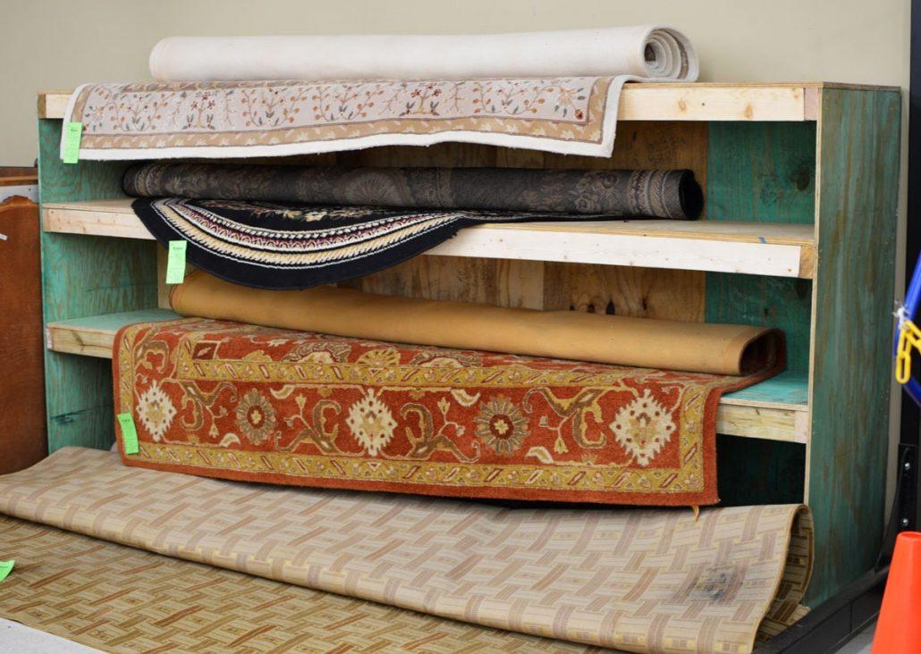 Rug Shelf
