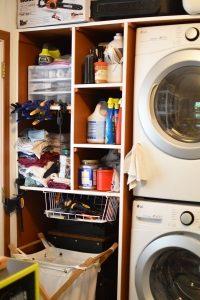 Washer Storage